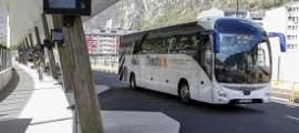 Un autobús de la companyia.