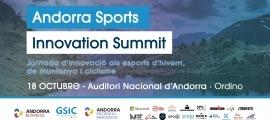 L'Andorra Sports Innovation Summit tindrà lloc el 18 d'octubre.