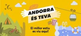 Imatge de la campanya de Carnet Jove Andorra