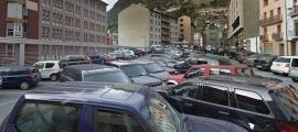 L'aparcament de la Creu Blanca es tancarà a partir de dilluns vinent.