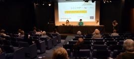 Un moment de la presentació dels resultats del projecte Aptitude a Sant Julià.