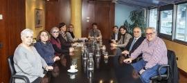 Arasanz, pimera per l'esquerra, al consell d'administració de la CASS, del qual era des del 2020 membre en representació del Govern.