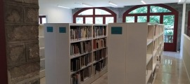 Les instal·lacions de la Biblioteca Nacional.