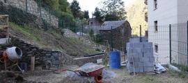 Els treballs al Camp de Perot.