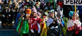 Una edició anterior de la rua infantil de carnaval de la Massana.