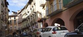 Un dels carrers de la capital alturgellenca.