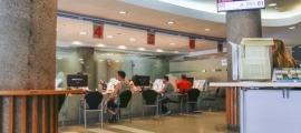Les dependències de la Caixa Andorrana de Seguretat Social.