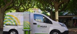 Vehicle de la companyia elèctrica alturgellenca.