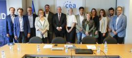 Jonathan Gil/ Membres de la junta de la CEA.