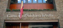 ANA/ Façana del comú d'Andorra la Vella