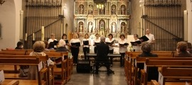 Concert de primavera de la Coral Casamanya a l'església parroquial d'Ordino.