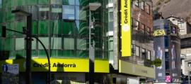 Les oficines centrals de Crèdit Andorrà
