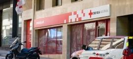 La faça de la Creu Roja Andorrana.