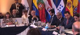 SFG/ La ministra Eva Descarrega, a la conferència.