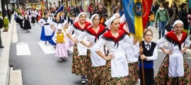 Una edició anterior de la Setmana de la diversitat cultural d'Andorra la Vella.