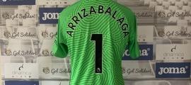 La samarreta de Kepa Arrizabalaga, porter del Chelsea. Foto: Gol Solidari
