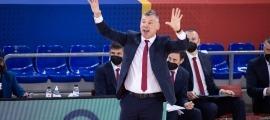 'Saras' Jasikevicius, el tècnic del Barça de bàsquet. Foto: Twitter Barça Basket