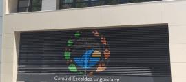 La façana del comú d'Escaldes-Engordany.