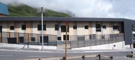 L'exterior de la futura escola bressol del Pas de la Casa.