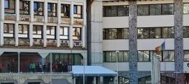Vista de l'escola francesa de la Massana.
