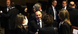 ANA/ El ministre Xavier Espot en l'acte de l'obertura judicial.
