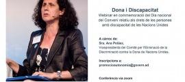 Ana Peláez serà l'encarregada de fer la xerrada.