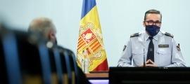 El director adjunt dels bombers, Jordi Farré.