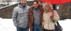 David Rios en el darrer dia de campanya