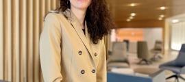 La nova directora general d'Assegurances de Vall Banc, Paloma Rousseau.