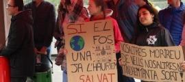 Una de les mobilitzacions contra el canvi climàtic organitzades per Fridays for Future.