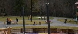 Un dels parcs reoberts avui.