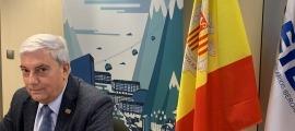 El president de la Confederació Empresarial Andorrana, Gerard Cadena.