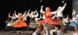Una actuació del Grup de Folklore Casa de Portugal.