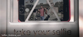 Captura del vídeo promocional d'Andorra Turisme.
