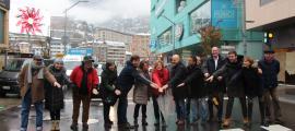 El candidats d'Escaldes i la capital van escenificar unitat per tenir més força.