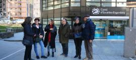 Els membres de la candidatura del PS a Escaldes-Engordany