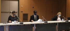 Els consellers del PS + I a Andorra la Vella.