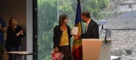 El lliurament del segon premi a la ciutadania.