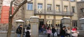 L'institut Joan Brudieu de la Seu d'Urgell.