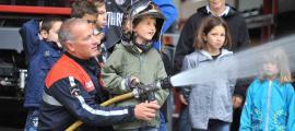 Jornada solidària dels bombers amb Albatros.