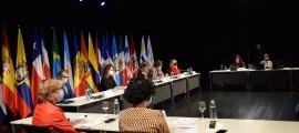 Un moment de la celebració de la 27a Conferència Iberoamericana de Ministres d'Educació.