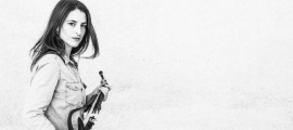 La violinista Mireia Clua.