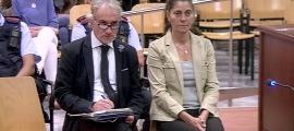 Una imatge del judici contra els pares de Nadia Nerea.
