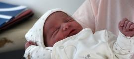 Eithan, el primer nadó del 2018.