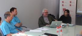 ANA/El doctor Ramon Novell i alguns professionals que treballen a l'EENSM.