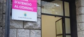 La nova oficina d'atenció al comerç, al carrer Doctor Nequi, 2 d'Andorra la Vella.