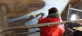 Una de les càpsules va tenir de protagonista Oromí, l'autor de les pimtures ació de les pintures murals de l'església parroquial de Sant Serni de Canillo.