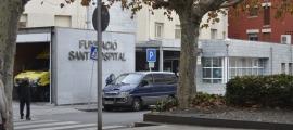 L'hospital, gestionat per l'Ajuntament de la Seu i el Bisbat d'Urgell.