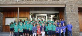 Una cinquantena de joves faran d'informadors turístics a l'estiu