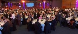 Un moment de la gala benèfica que es va celebrar a l'Andorra Park Hotel el 30 de gener de 2020.